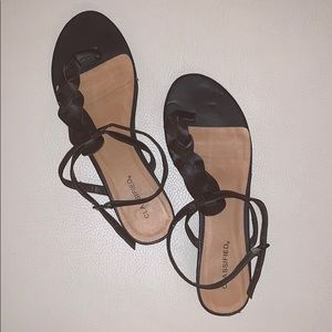 Classified Sandal - Brown